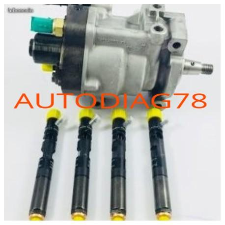 Pompe injection 1.5 dci+injecteur Delphi