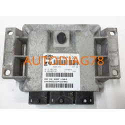 CALCULATEUR MOTEUR FIAT DUCATO BOXER JUMPER 2.2 HDI 96 632 890 80, 9663289080, 96 612 569 80, 9661256980 VISTEON DCU102