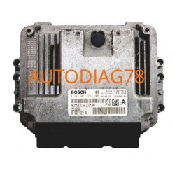 CALCULATEUR MOTEUR PEUGEOT 207 1.4 HDI BOSCH 0281012526, 0 281 012 526, 9661728680, 96 617 286 80, 9657699480 EDC16C34