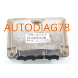 CALCULATEUR MOTEUR AUDI A3 1.9 TDI BOSCH 0 281 001 756, 0281001756, 038 906 018 BA, 038906018BA