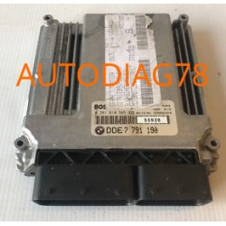 CALCULATEUR MOTEUR BMW E46 320 150CV BOSCH 0 281 010 565, 0281010565, DDE 7 791 190, DDE7791190, 7791190 EDC16C1-3.1