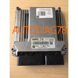 CALCULATEUR MOTEUR BMW Serie 1 E87 120 3 E90 320D 5 E60 520D BOSCH 0 281 013 251, 0281013251, DDE 7 801 711, 7801711
