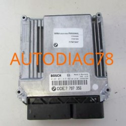 CALCULATEUR MOTEUR BMW BOSCH 0 281 011 416, 0281011416, DDE 7 795 845, DDE7795845, 7795845