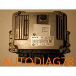 CALCULATEUR MOTEUR BMW MINI BOSCH 0 261 201 600, 0261201600, 1039S18239 DME 1.6 TURBO