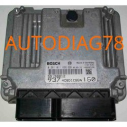 CALCULATEUR MOTEUR ALFA ROMEO GT 150 1.9 JTD BOSCH 0 281 011 511, EDC16C8 0281011511, 55198809