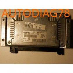CALCULATEUR MOTEUR CITROEN XSARA SAXO PEUGEOT 306 1.6 BOSCH 0261206214, 0 261 206 214, 9632693880, 96 326 938 80, MP7.2 03