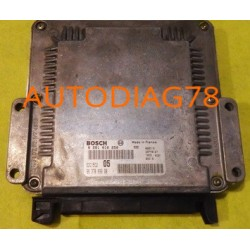 CALCULATEUR MOTEUR PEUGEOT 206 2.0 HDI BOSCH 0281010250, 0 281 010 250, 9637089980, 96 370 899 80, EDC15C2 05, 28FM0167