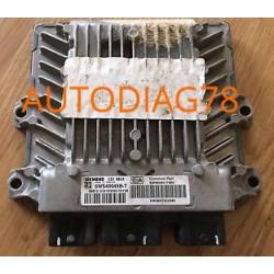 CALCULATEUR MOTEUR PEUGEOT 406 2.0 HDI SIEMENS SID801A 5WS40107E-T SW9653150080, SW 9653150080, HW964723380, HW 9647223380