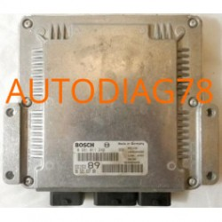 CALCULATEUR MOTEUR PEUGEOT 307 2.0 HDI, BOSCH 0 281 011 248, 0281011248, EDC15C2 89, 96 521 837 80, 965218378