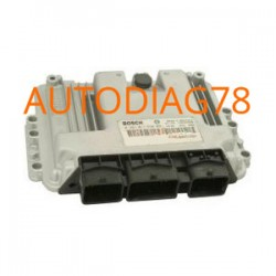 CALCULATEUR MOTEUR PEUGEOT 206 1.4 HDI BOSCH 0 281 011 089, 0281011089, 9653202580, 96 532 025 80, 9647785580, 96 477 855 80, ED