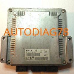 CALCULATEUR MOTEUR PEUGEOT 306 2.0 HDI 90CV, BOSCH 0 281 010 592, 0281010592, EDC15C2 69, 96 420 148 80, 9642014880