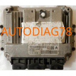 CALCULATEUR D'INJECTION PEUGEOT 307 1.6 HDI BOSCH 0281011863, 0 281 011 863, 9655943580, 96 559 435 80, 9653958980, EDC16C34, 10