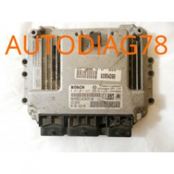 CALCULATEUR MOTEUR PEUGEOT 307 1.6 HDI BOSCH 0281011627, 0 281 011 627, 9656161880, 96 561 618 80, 9653958980, EDC16C34