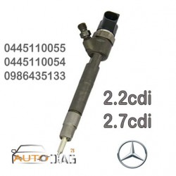 INJECTEUR BOSCH 0445110054 - 0445110055 - A6110701187