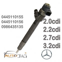 INJECTEUR BOSCH 0445110155 - 0445110156 - A6480700187