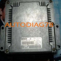 CALCULATEUR MOTEUR PEUGEOT 406 2.0 HDI BOSCH 0 281 010 775, 0281010775, 29FM0000, 96 435 253 80, 9643525380, EDC15C2 13