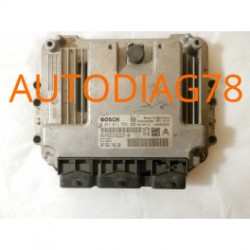 CALCULATEUR MOTEUR PEUGEOT 407 1.6 HDI BOSCH 0281011558, 0 281 011 558, 9656974680, 96 569 746 80, 9653239880, EDC16C3
