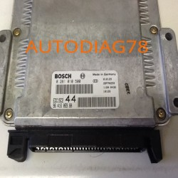 CALCULATEUR MOTEUR PEUGEOT 206 2.0 HDI BOSCH 0281010500, 0 281 010 500, 9641606980, 96 416 069 80 EDC15C2 44 28FM0259
