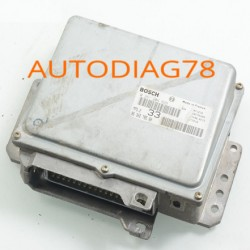 CALCULATEUR MOTEUR PEUGEOT 306 1.6 BOSCH 0261204628, 0 261 204 628, 9630278580, 96 302 785 80