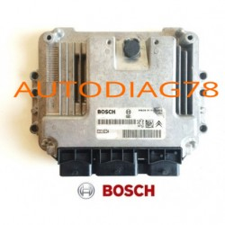 CALCULATEUR MOTEUR PEUGEOT 206 1.6 HDI BOSCH EDC16C34 0281011628,0 281 011 628,  9655924180