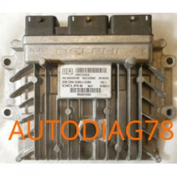 CALCULATEUR MOTEUR PEUGEOT CITROEN DELPHI DCM3.4 R0413C004E, 28105762, HW9663548180, 9664873580