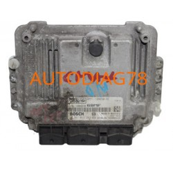 CALCULATEUR MOTEUR FORD FOCUS C-MAX 1.6 TDCI, BOSCH 0 281 011 263, 0281011263, 4M51-12A650-NE, 4M5112A650NE