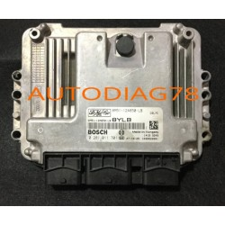 CALCULATEUR MOTEUR FORD FOCUS 1.6 TDCI BOSCH 0 281 011 701, 0281011701, 8M51-12A650-LB, 8M5112A650LB, 12A650LB, 1039S20991, 8YLB