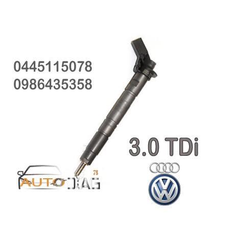 injecteur Audi Q7 3.0 TDI bosh 0445115078