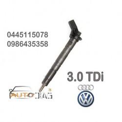 INJECTEUR 0445115052 BOSCH 3.0 TDI V6 Q7 PORSCHE Q5 A8 - Autodiag78
