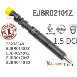 Injecteur DELPHI EJBR02101Z