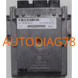 CALCULATEUR MOTEUR FIAT DUCATO, 2.2 HDI, VISTEON, SW 96 664 845 80, SW9666484580, HW 96 663 602 80, HW9666360280