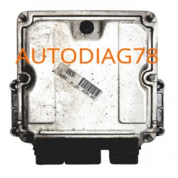 CALCULATEUR MOTEUR CITROEN PEUGEOT FIAT 2.0 HDI BOSCH 0 281 010 591, 0281010591, 96 435 271 80, 9643527180
