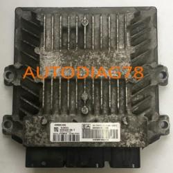 CALCULATEUR MOTEUR FIAT SCUDO2.0 16V MJT, 5WS40615C-T, 5WS40615CT,SIEMENS SID803A, SW9665100380, HW9661642180