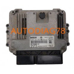 CALCULATEUR MOTEUR FIAT DOBLO 1.9 JTD, BOSCH 0 281 012 865, 0281012865, EDC16C39 51798819