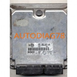 CALCULATEUR MOTEUR VW  GOLF 1.9 TDI 038906019AM, 038 906 019 AM, BOSCH 0 281 010 091, 0281010091, DIESEL 0813, 28SA4087