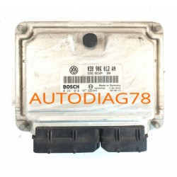 CALCULATEUR MOTEUR Skoda Fabia 1.9TDI BOSCH 0 281 010 107, 0281010107, 038 906 012 AN, 038906012AN, EDC15VM+