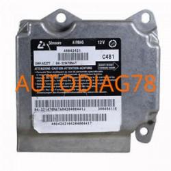 Réparation Calculateur D'airbag Alfa Romeo 147 - 46842421 Siemens 5WK43277