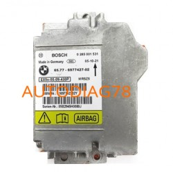 Réparation Calculateur D'airbag BMW Bosch 0 285 001 531, 0285001531, 31697742701V