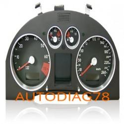 Réparation tableau de bord compteur Audi TT