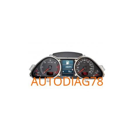 Reparation Compteur Tableau De Bord Audi A6 Q7 Autodiag78
