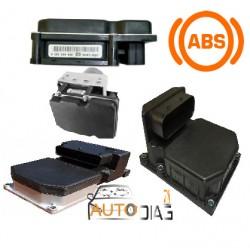 Réparation Bloc ABS 5.3 AUDI 8E0614111B, 8E0 614 111 B, Bosch 0265 220 405, 0265220405