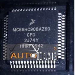 MOTOROLA MC68HC908AZ60 MASQUE 2J74Y