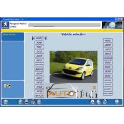 Interface de diagnostic pour les véhicules Peugeot et Citroën LEXIA 3 PP2000 ET DIAGBOX