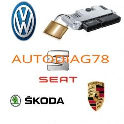 Réparation anti-demarrage immo off Porsche Calculateur Bosch EDC17