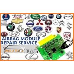 Réparation dump D'airbag Crashdata