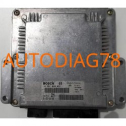 CALCULATEUR MOTEUR CITROEN XSARA 2.0 HDI BOSCH 0281010871, 0 281 010 871, 9645442480, 96 454 424 80, EDC15C2 21, 28FM0000
