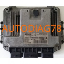 calculateur moteur Citroen Xsara Picasso 1.6HDI bosch 0 281 012 466, EDC16C34, 96 617 738 80, 0281012466, 9661773880