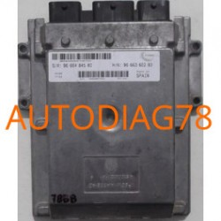 CALCULATEUR MOTEUR CITROEN JUMPER, 2.2 HDI, VISTEON, SW 96 664 845 80, SW9666484580, HW 96 663 602 80, HW9666360280