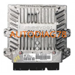 CALCULATEUR MOTEUR CITROEN JUMPY, 2.0 16V HDI, 5WS40615C-T, 5WS40615CT,SIEMENS SID803A, SW9665100380, HW9661642180