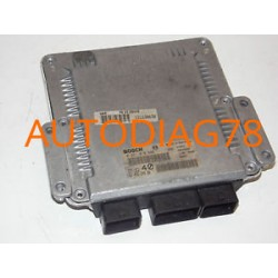 CALCULATEUR MOTEUR CITROEN C5 2.2 HDI BOSCH 0281010886, 0 281 010 886, 9645534980, 96 455 349 80, EDC15C2 40